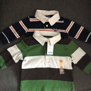 Boys Gymboree Rugby Shirt Lot 3-6 months
